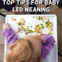 Top tips for Baby Led Weaning