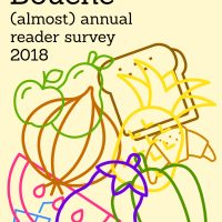 Amuse Your Bouche (almost!) annual reader survey 2018