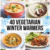 40 vegetarian winter warmers